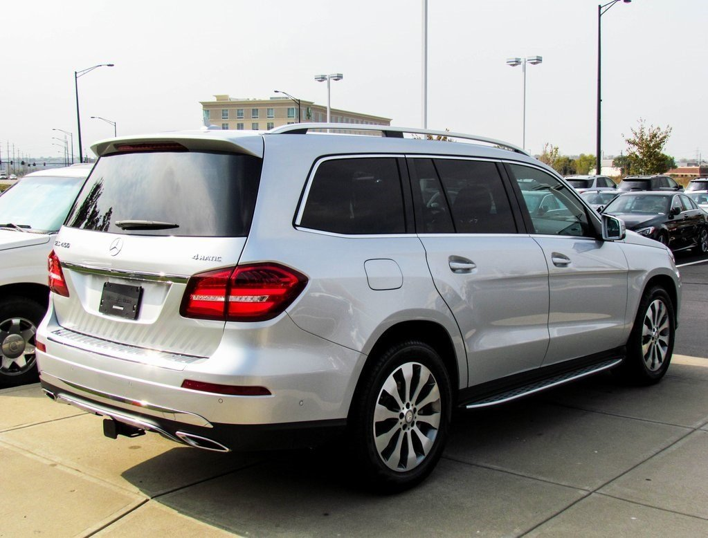 stock w16471 pre owned 2017 mercedes benz gls 450 4matic suv in west chester. Black Bedroom Furniture Sets. Home Design Ideas