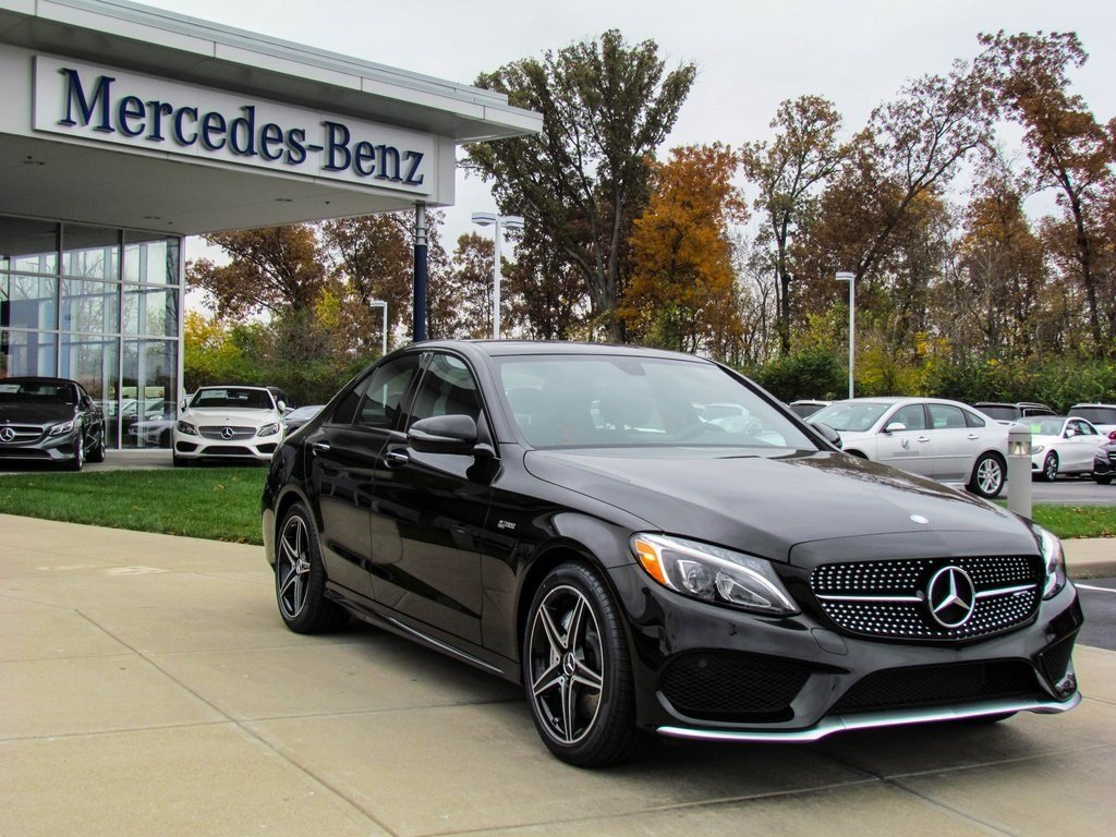 stock w16506 new 2017 mercedes benz c class amg c43 sedan in west chester. Black Bedroom Furniture Sets. Home Design Ideas