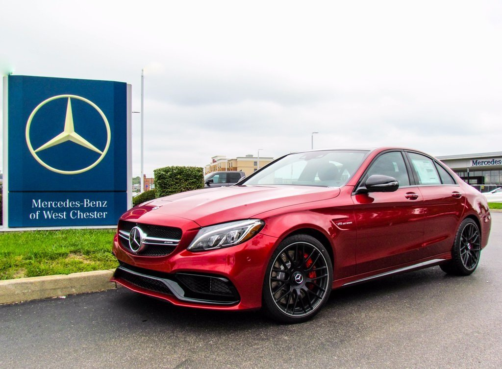 stock w16995 new 2018 mercedes benz c class amg c 63 s sedan in west chester. Black Bedroom Furniture Sets. Home Design Ideas