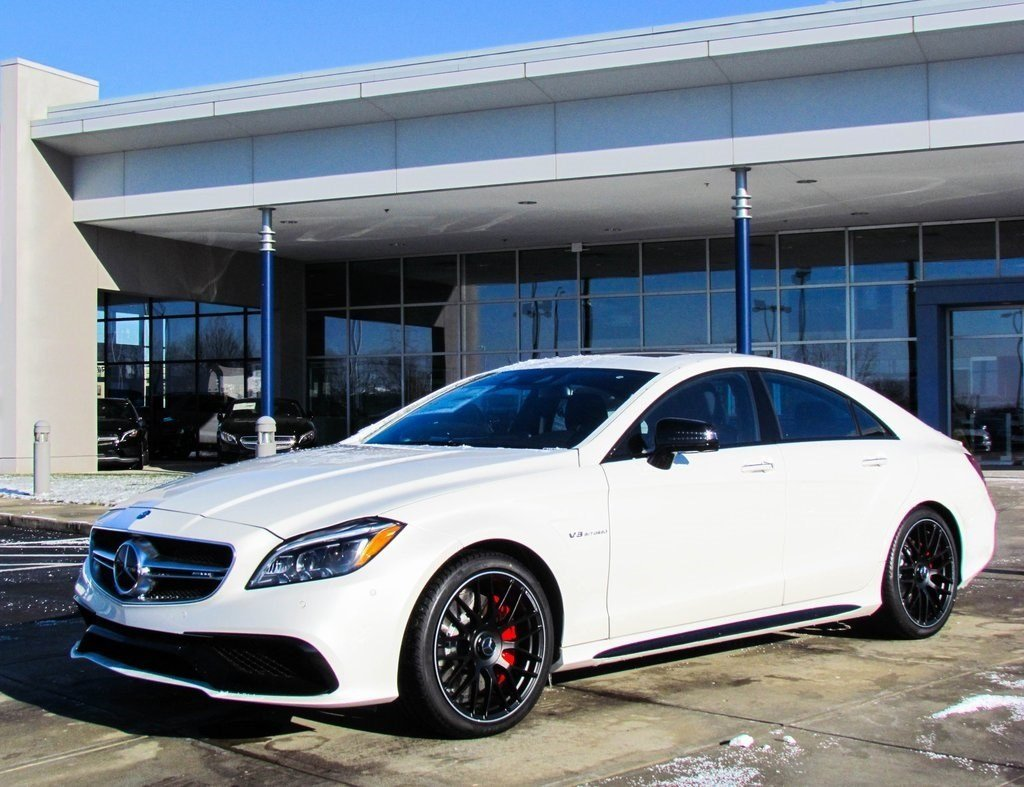 stock w16631 new 2017 mercedes benz cls cls 63s amg coupe in west chester. Black Bedroom Furniture Sets. Home Design Ideas