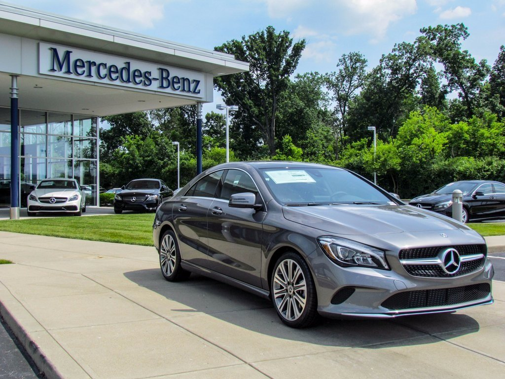 stock w16848 new 2018 mercedes benz cla cla 250 in west chester. Black Bedroom Furniture Sets. Home Design Ideas