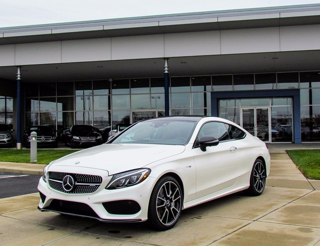 stock w16548 new 2017 mercedes benz c class amg c43 coupe in west chester. Black Bedroom Furniture Sets. Home Design Ideas