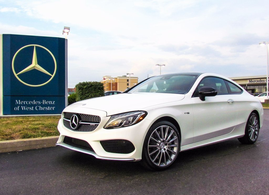 stock w16980 new 2018 mercedes benz c class c 43 amg coupe in west chester. Black Bedroom Furniture Sets. Home Design Ideas