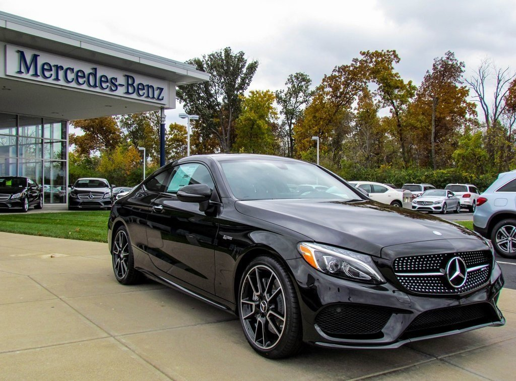 stock w16504 new 2017 mercedes benz c class amg c43 coupe in west chester. Black Bedroom Furniture Sets. Home Design Ideas