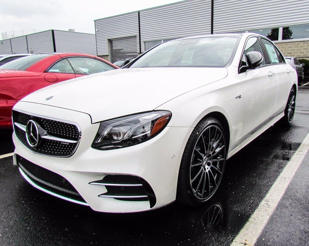 stock w17051 new 2018 mercedes benz e class e 43 amg sedan in west chester. Black Bedroom Furniture Sets. Home Design Ideas